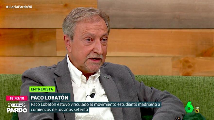 Paco Lobatón, en 'Liarla Pardo' de laSexta