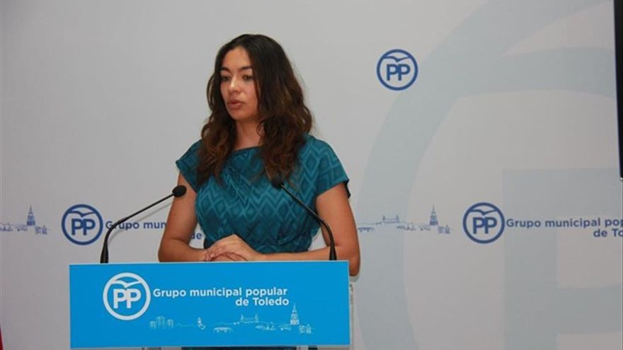 Claudia Alonso, portavoz del PP de Castilla-La Mancha