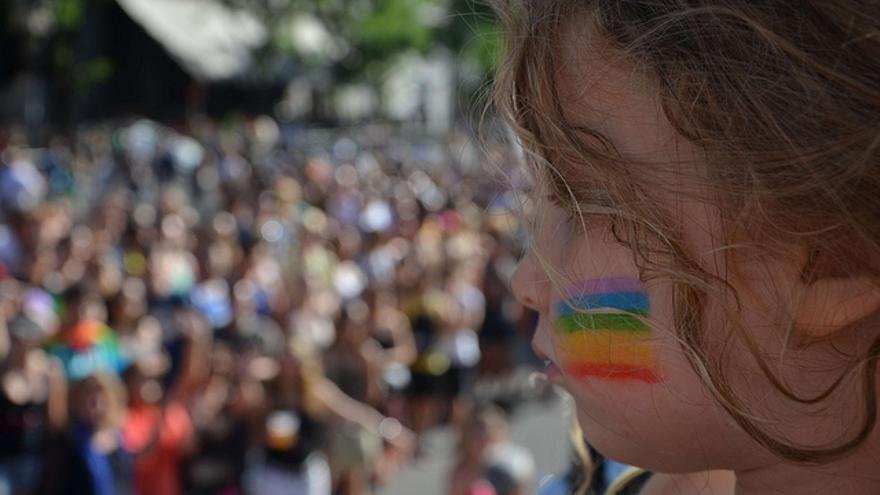 Manifestación Estatal Orgullo LGTB, en Madrid 2012.   Foto: Marina Liotta para FELGTB y COGAM CC.
