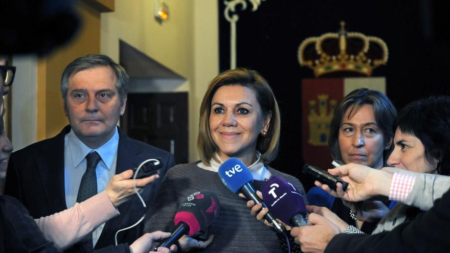María Dolores de Cospedal en las Cortes de Castilla-La Mancha / PP