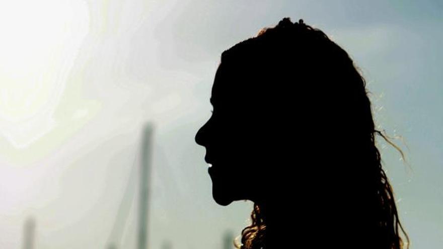 Adriana semanas después de ser internada en el CIE de Madrid durante 18 días embarazada de seis meses hace / Foto cedida.