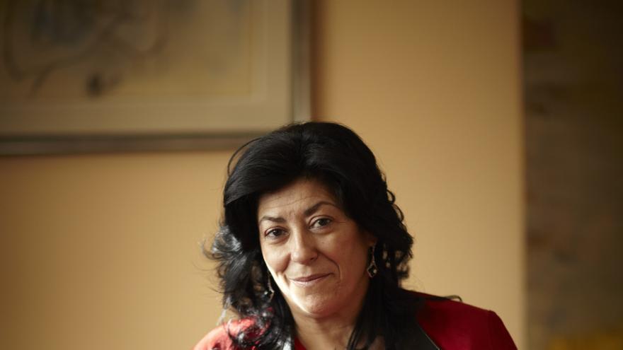 La escritora Almudena Grandes. Foto: FENAVIN
