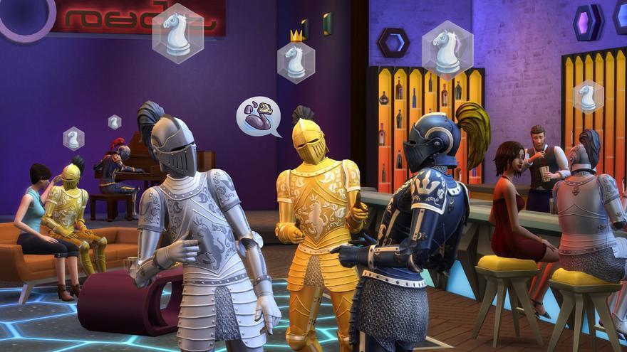 Los Sims 4  Quedamos