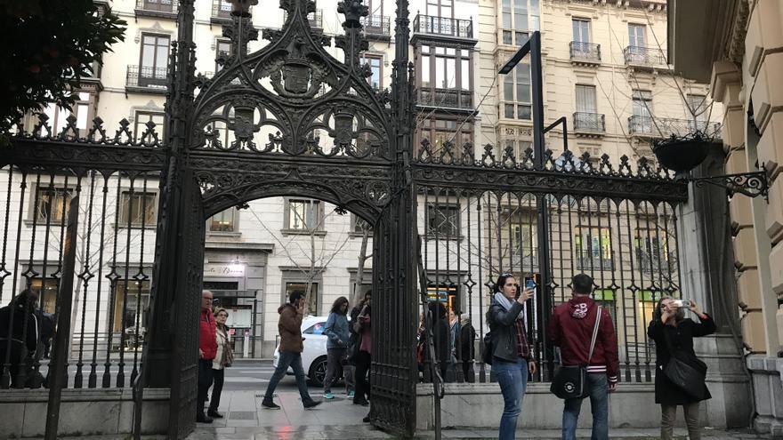 Verja de la Calle Oficios.