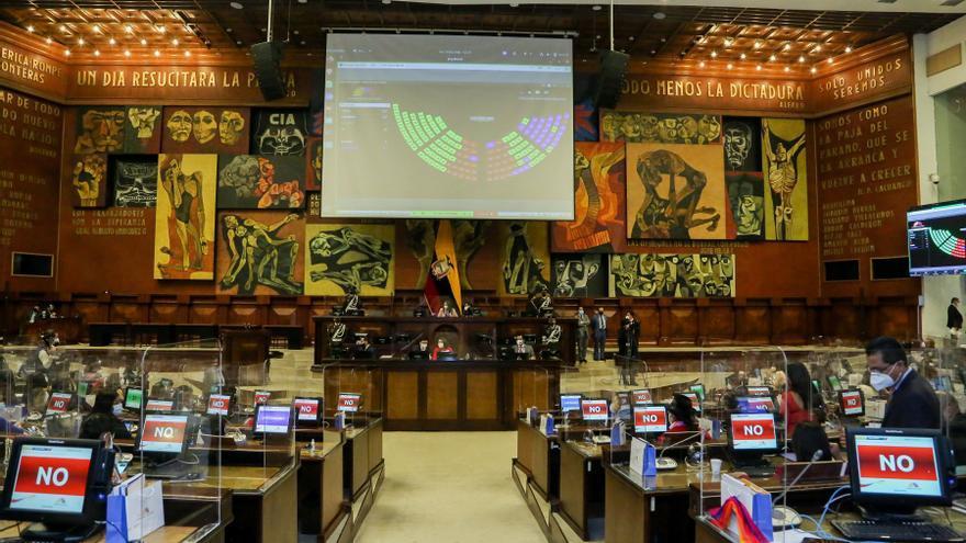Suspendida la sesión inaugural del parlamento de Ecuador por falta de acuerdo