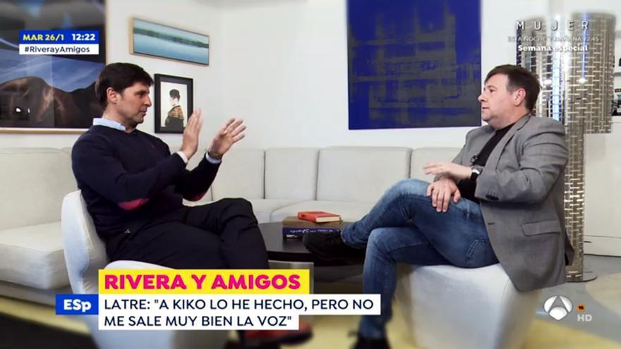 Fran Rivera entrevista a Carlos Latre en 'Espejo Público'