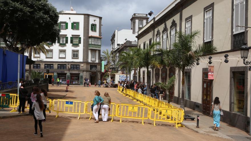 La capital grancanaria se convierte en Casablanca para el rodaje de Allied (Alejandro Ramos)