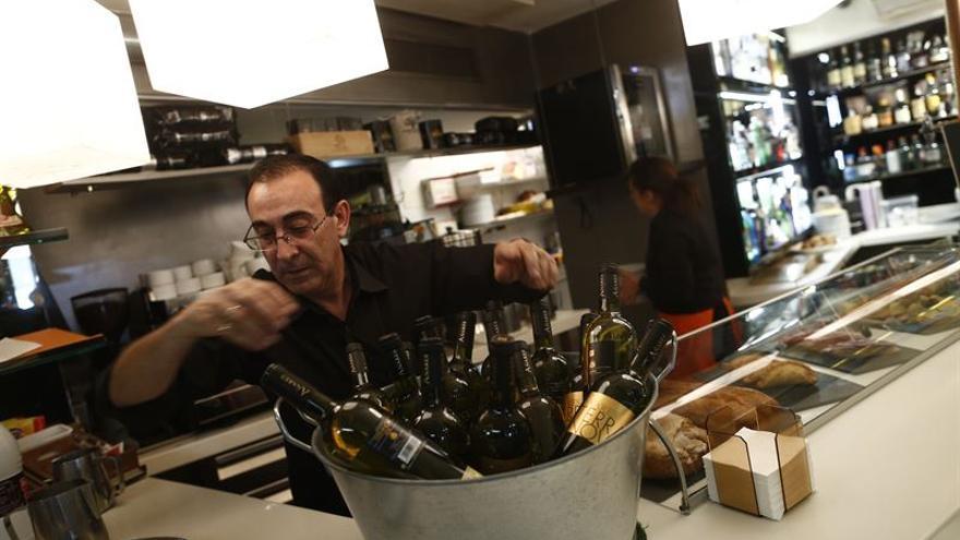 La hostelería ha sido el único sector en el que ha descendido la cifra de autónomos.