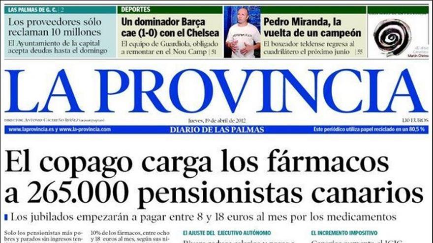 De las portadas del día (19/04/2012) #1