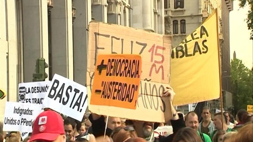 Delegación del Gobierno de Madrid multará a los promotores de la marcha del 15M del domingo