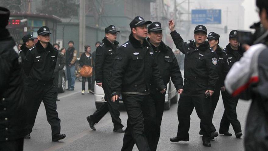 Detenidas 67 personas por organizar una protesta en las calles de Pekín