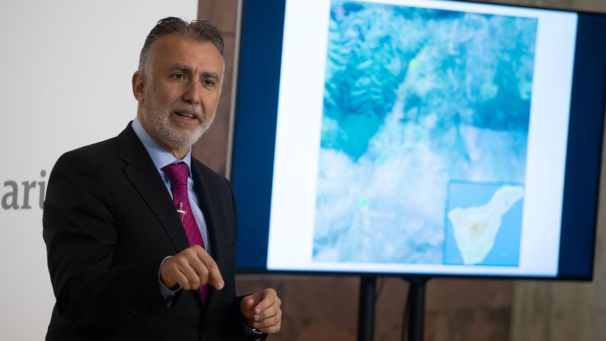 El presidente de Canarias anuncia el inicio de las obras del cierre del anillo insular en Tenerife