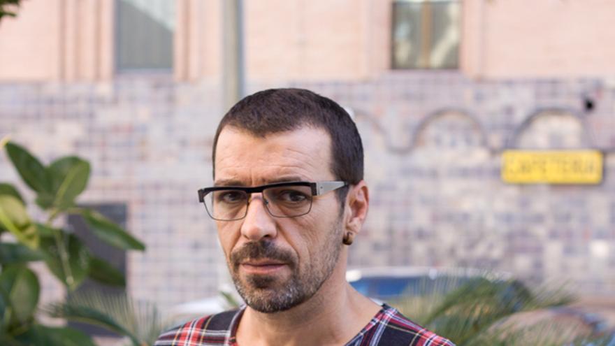 Juan Ribas, de la compañía murciana Teatro de la Perturbación / ER