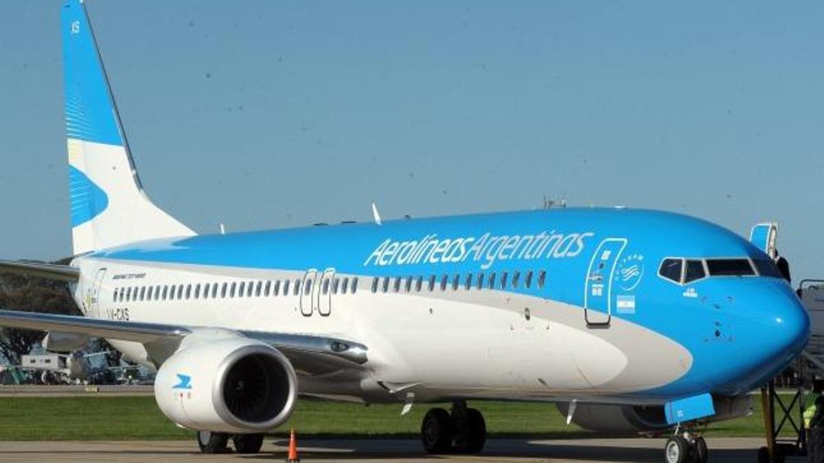 Aerolíneas Argentinas parte rumbo as Moscú a buscar más dosis de Sputnik V.