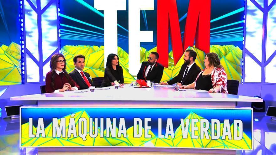 """Plató de """"Todo es mentira"""" en Cuatro"""