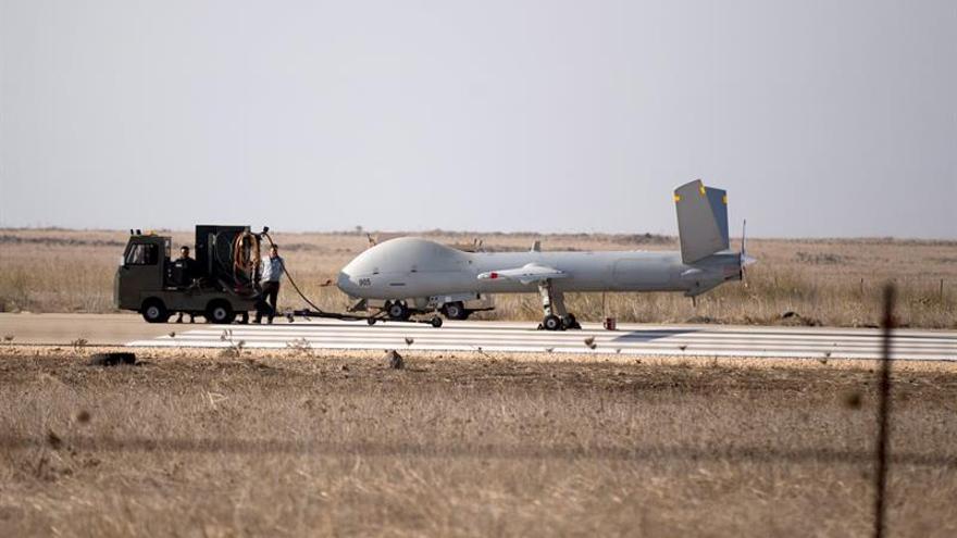 El Ejército israelí intercepta un dron que intentó llegar a los Altos del Golán