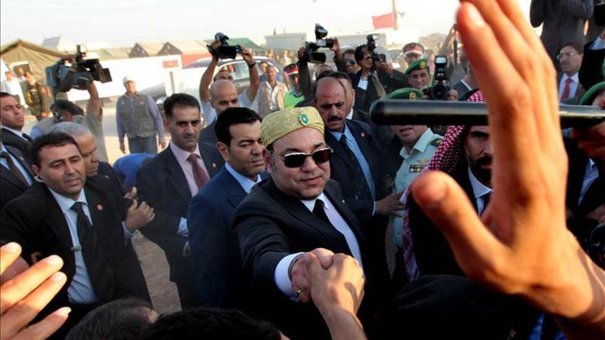 Obama recibe en la Casa Blanca al rey de Marruecos, Mohamed VI