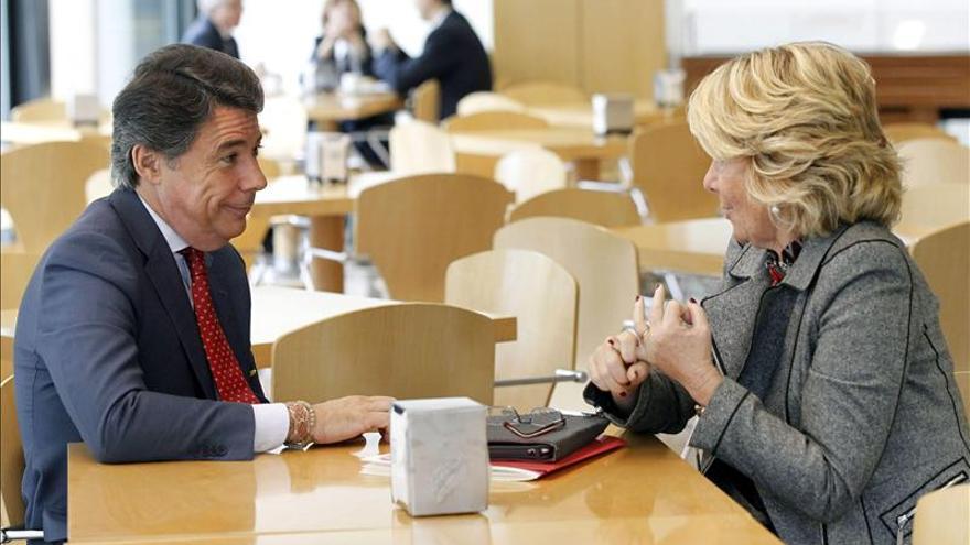 Aguirre dice que si Mariano Rajoy pudiera bajaría los impuestos ahora mismo