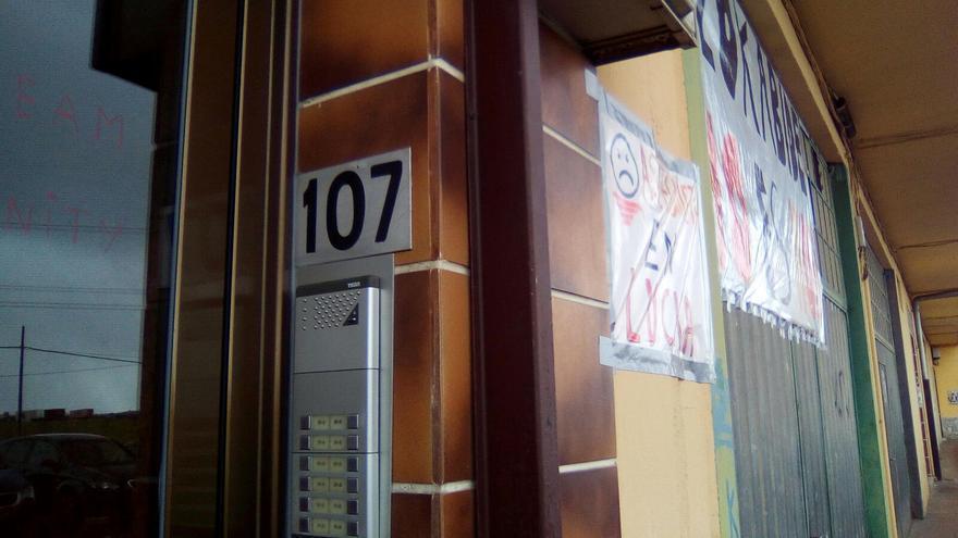 La vivienda adjudicada a la familia Manzanares Cortés está en el portal 107