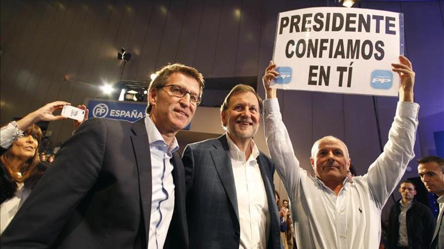 """Rajoy pide huir de los extremismos: """"Somos un pueblo moderado"""""""