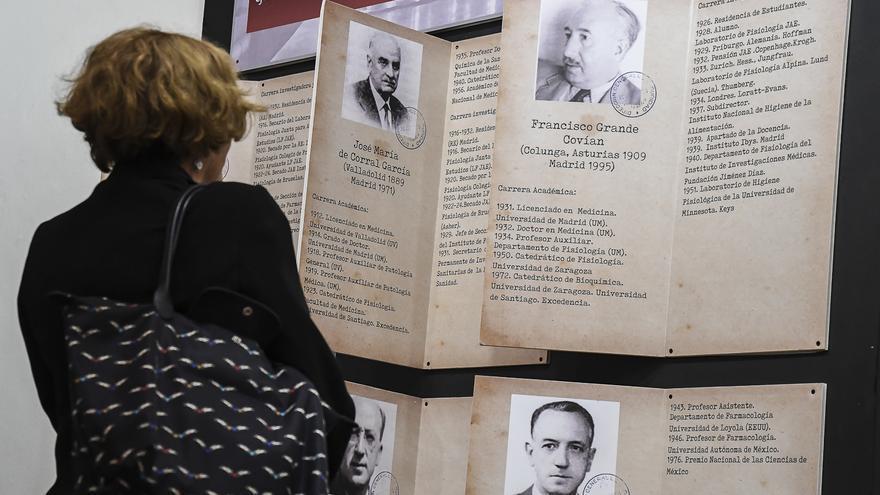 Exposición Juan Negrín.