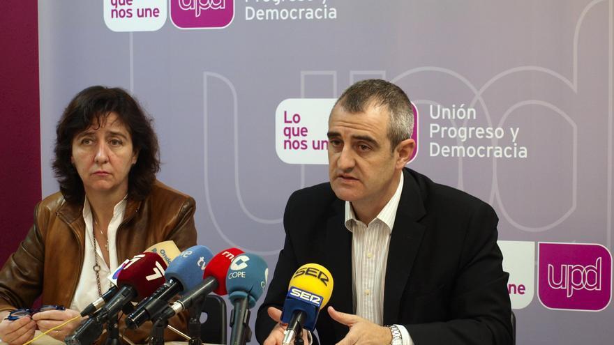 Fuensanta Máximo y César Nebot, de UPyD Región de Murcia