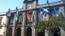 Fachada del Ayuntamiento de La Laguna