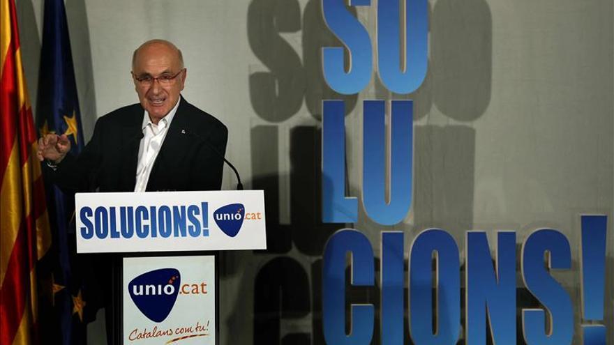 """Duran i Lleida: """"No se puede comparar una agresión verbal con una física"""""""