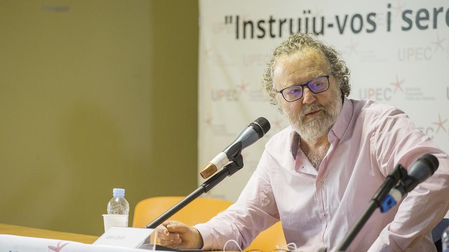 El periodista sudafricano, John Carlin, en Barcelona