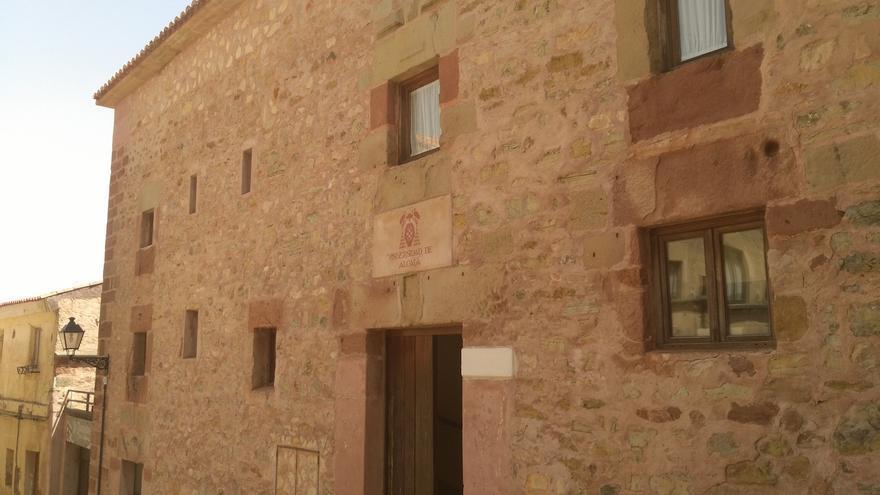 Casa integrada dentro del complejo de la hospedería Porta Coeli en Sigüenza FOTO: Raquel Gamo