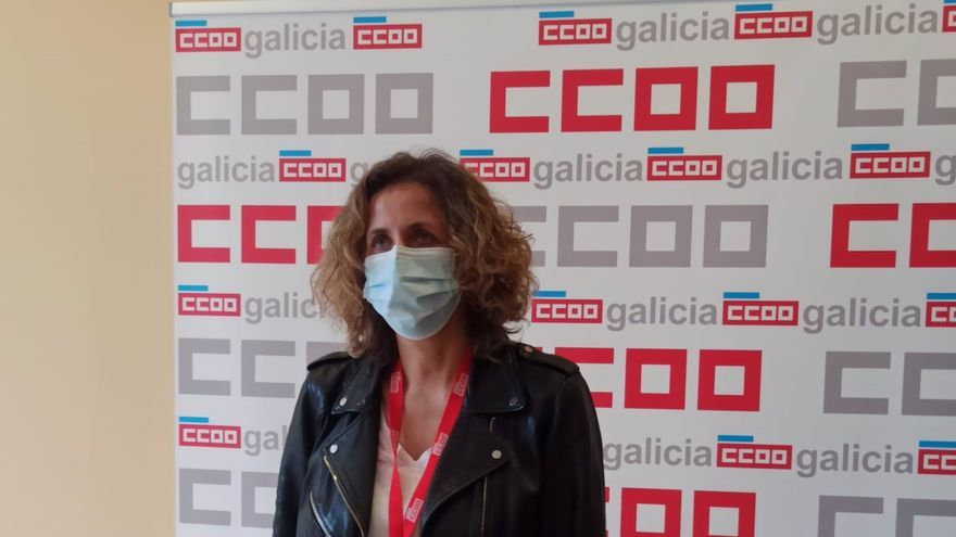 Amelia Pérez, nueva secretaria xeral de CC.OO. en Galicia, la primera mujer en ocupar este cargo