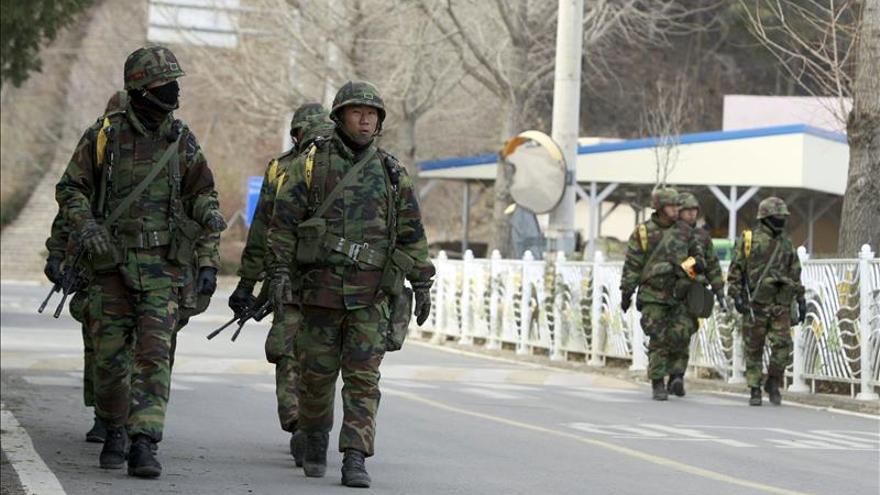 Corea del Sur realiza un ejercicio naval en plena tensión con el Norte