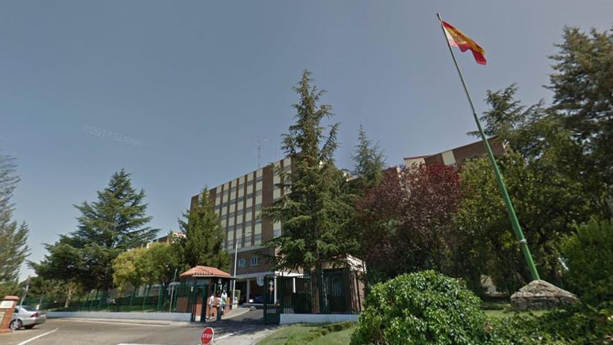 Sede de la Comandancia de la Guardia Civil en Valladolid