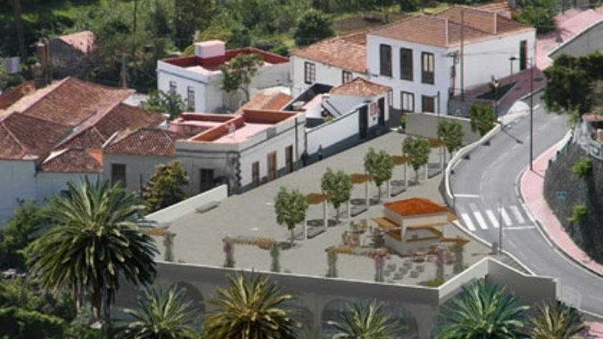 Proyecto de la plaza de Santo Domingo