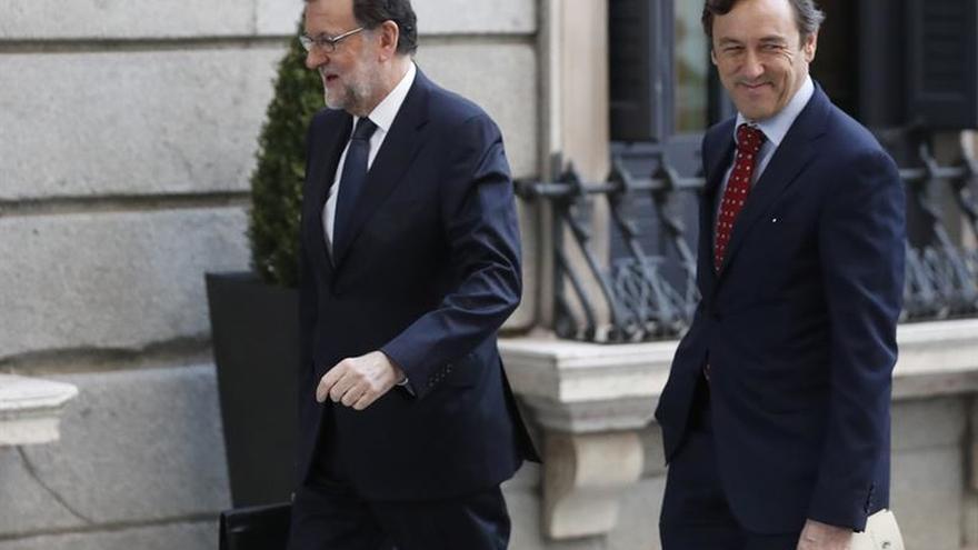 """Rajoy confía en que haya un debate de investidura """"con sentido común"""""""