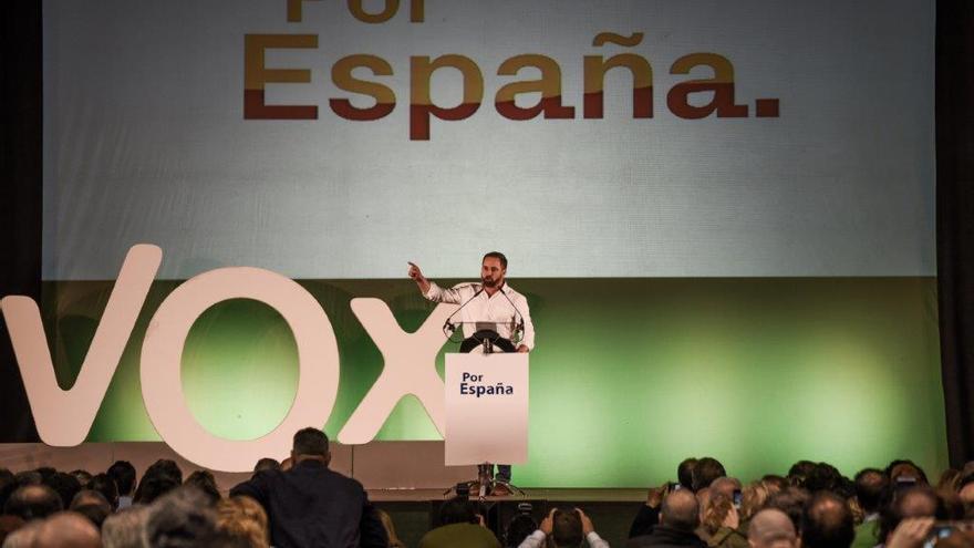 Mitin de Vox en el pabellón Príncipe de Asturias / CARLOS TRENOR