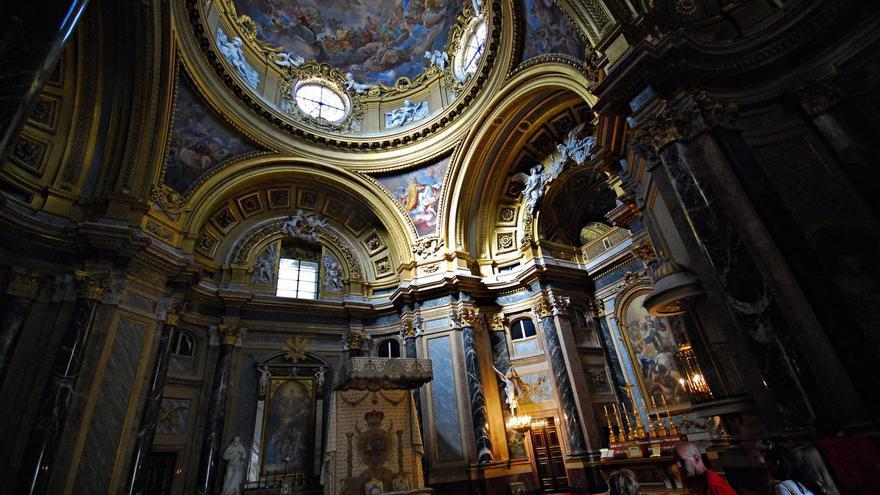 Interior del Palacio Real de Madrid