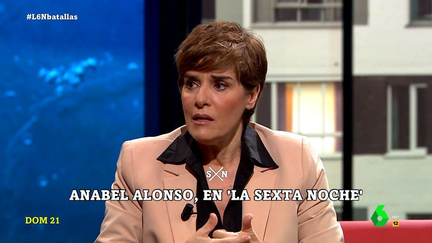 Anabel Alonso, en 'laSexta Noche'