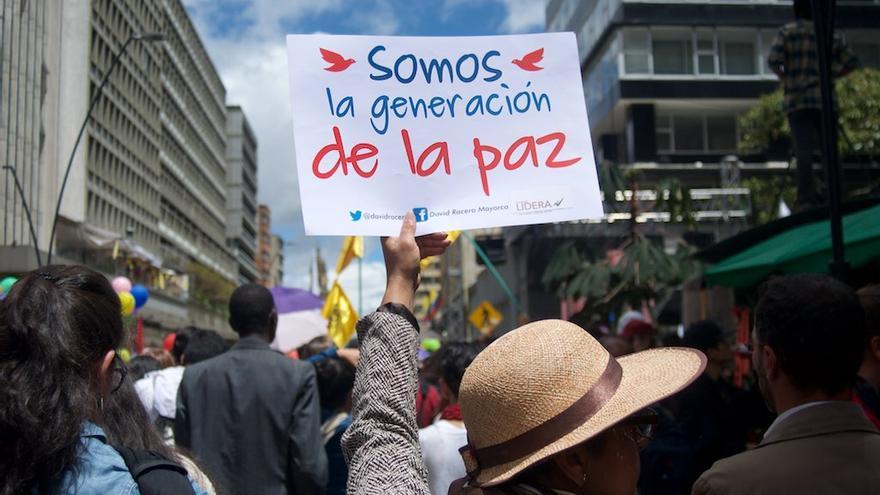 Desde que los acuerdos de paz han estado sobre la mesa para su firma y ratificación, las cifras sobre personas defensoras asesinadas ha aumentado © Agencia Prensa Rural