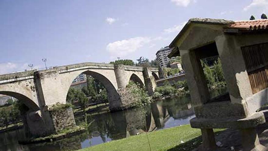 Puente romano de Ourense. Turgalicia