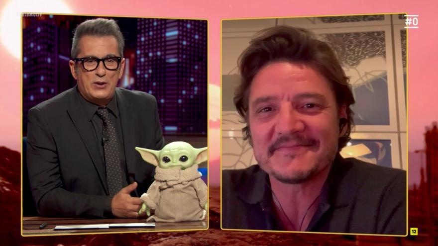 Buenafuente entrevistando a Pedro Pascal en 'Late Motiv'