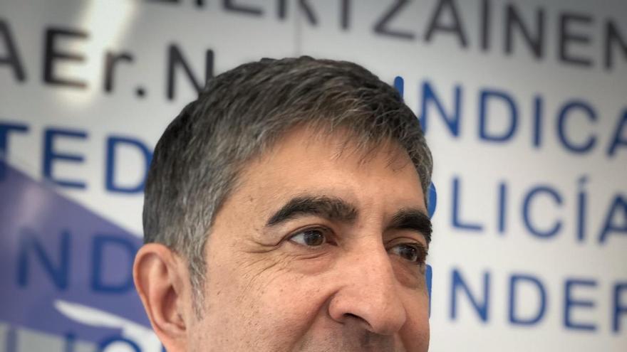 Roberto Seijo, en la sede de Erne en Bilbao
