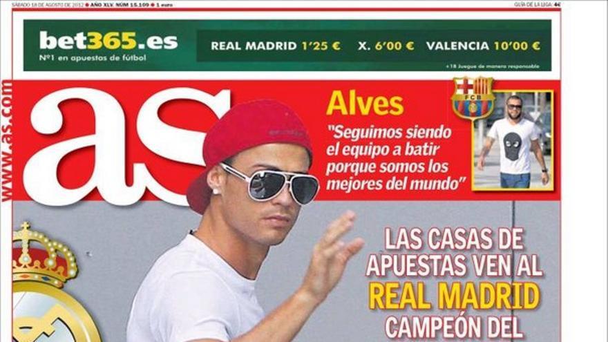 De las portadas del día (18/08/2012) #11