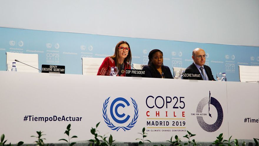 La presidenta de la COP25, la ministra chilena Carolina Schmidt.
