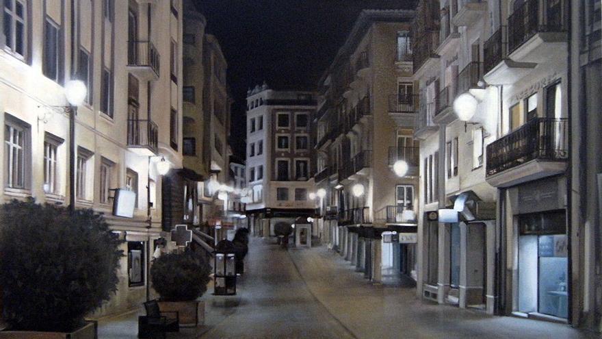 Noche en la Calle Castillo, Santa Cruz de Tenerife. (Fernando Oliver).