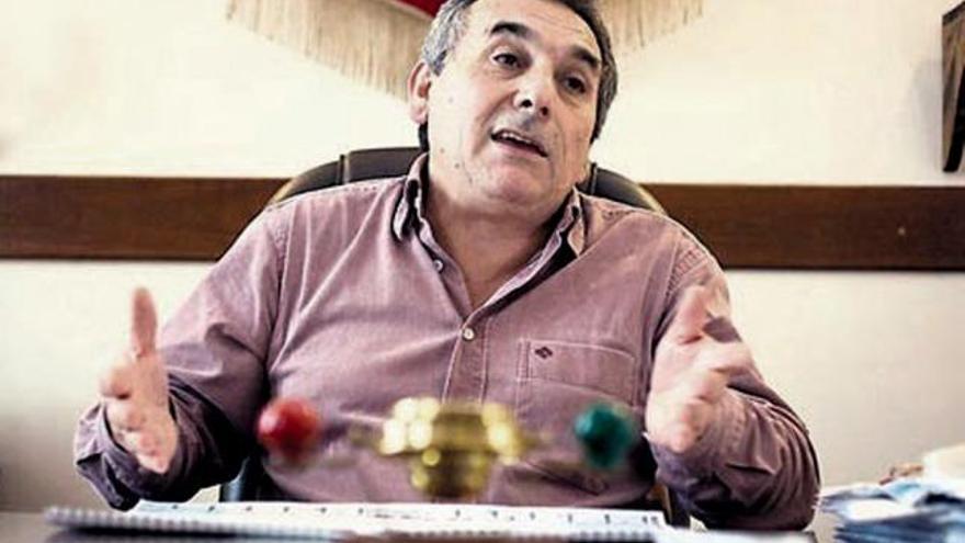 Schmid, jefe del sindicato de Dragado y Balizamiento. T