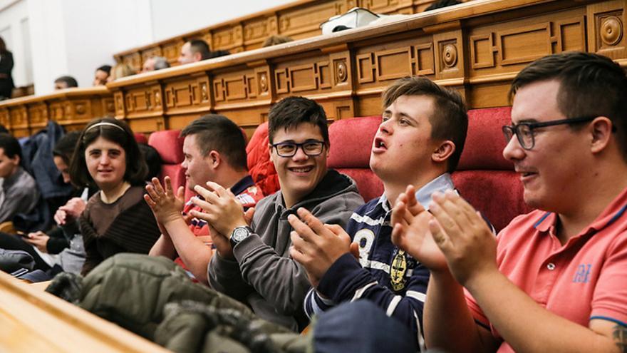 Pleno sobre discapacidad en las Cortes de Castilla-La Mancha
