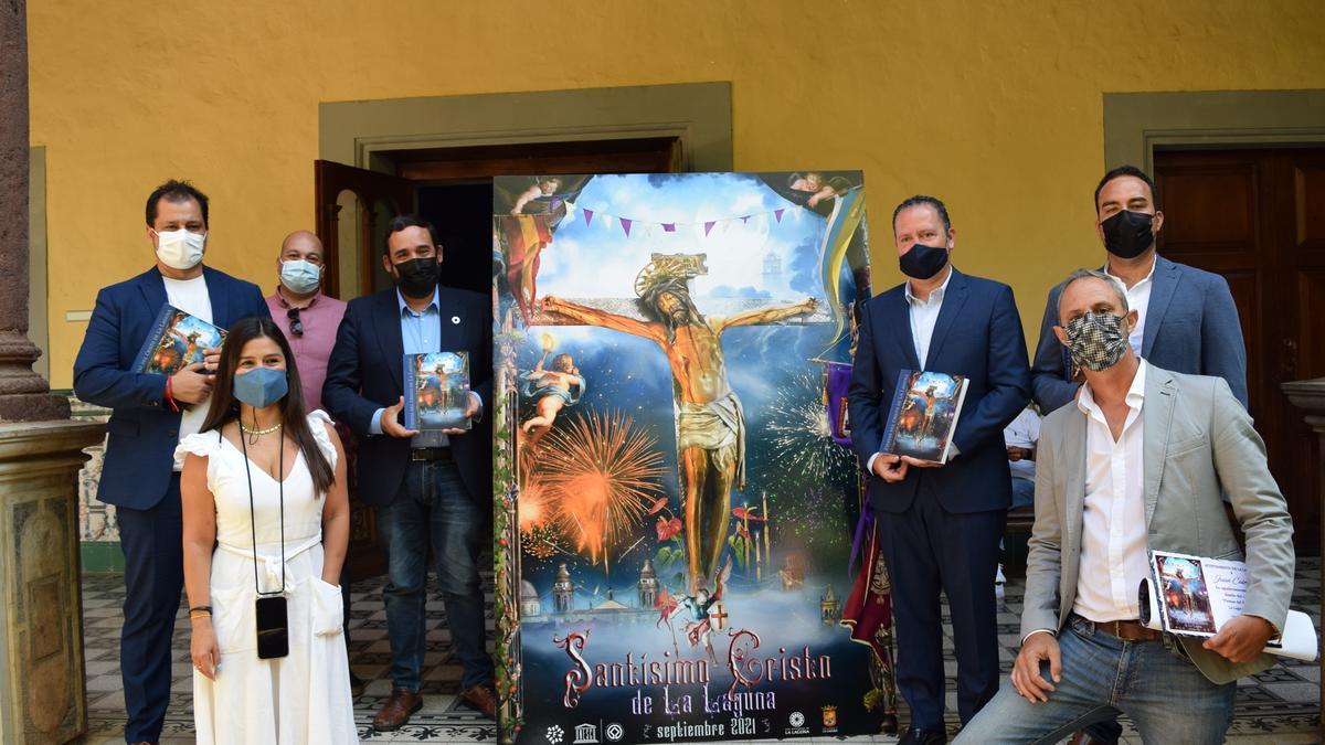 Presentación de las Fiestas del Cristo de La Laguna 2021