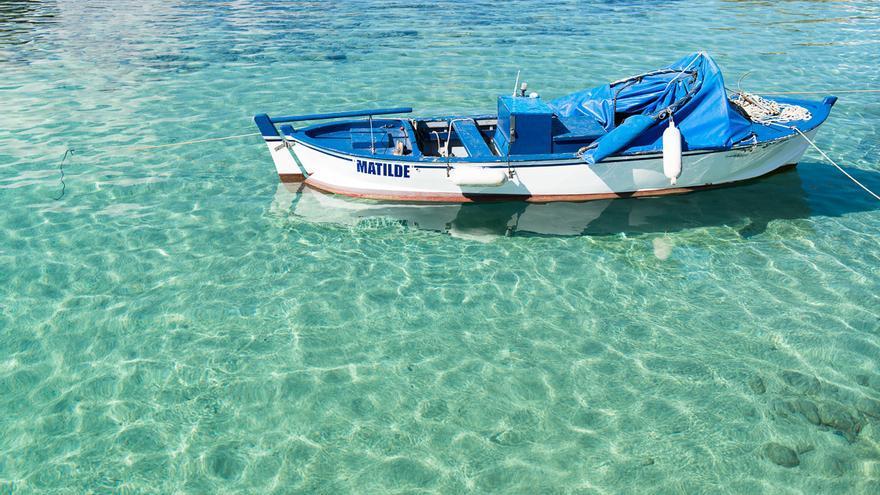 Barcas en las aguas transparentes de El Puertito. André P. Meyer-Vitali (CC)