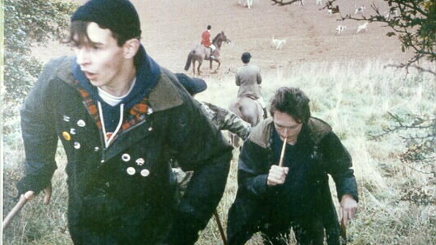 Imagen de archivo de los saboteadores de la caza